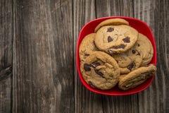 Chocolate Chip Cookies Imagem de Stock Royalty Free
