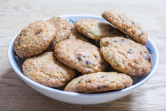 Chocolate Chip Cookies Foto de archivo