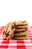 Chocolate Chip Cookies Fotografía de archivo libre de regalías
