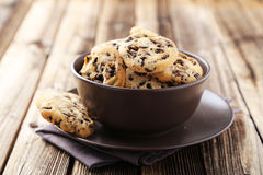 Free Chocolate Chip Cookies Royalty Free Stock Photos - 56126378