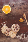 Chocolate Chip Cookies Imagenes de archivo
