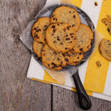 Chocolate Chip Cookies Foto de Stock Royalty Free