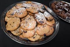 Chocolate Chip Cookies Imágenes de archivo libres de regalías
