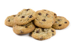 Free Chocolate Chip Cookies Royalty Free Stock Photos - 8078288