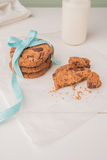 Chocolate Chip Cookies Fotografia de Stock