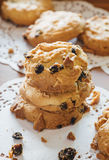 Chocolate Chip Cookies Fotografia de Stock Royalty Free