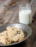 Chocolate Chip Cookies Dessert fotos de archivo libres de regalías
