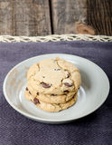 Chocolate Chip Cookies  Dessert Royalty Free Stock Image