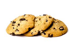 Fresh Baked Chocolate chip cookies Royalty Free Stock Image