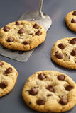 Chocolate Chip Cookies Fresh From the Oven Stock Images