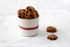 Choc chip cookie Royalty Free Stock Image