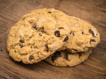 Chocolate Chip Cookies Pile Royalty Free Stock Images