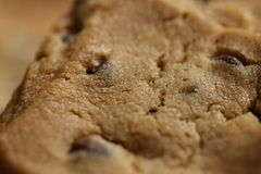 Chocolate Chip Cookies on Plate 11 Stock Photo