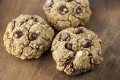Chocolate Chip Cookies (Shallow DOF) Stock Images