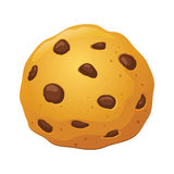 Chocolate Chip Cookies Vector Illustration Royalty Free Stock Photography