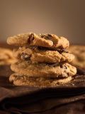 Chocolate chip cookies vertical Stock Photos