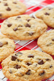 Chocolate Chip Cookies Vertical Stock Image
