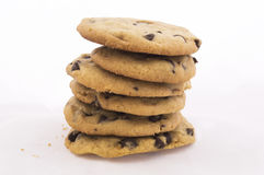 Chocolate chip cookies 1 stock photography