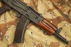 Chocolate Chip Kalashnikov Stock Image