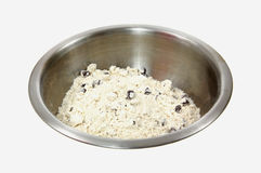 Chocolate Chip Muffin Mix Royalty Free Stock Photography