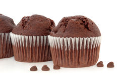 Chocolate Chip Muffins Stock Images