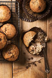 Chocolate Chip Muffins Stock Photo