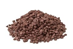 Chocolate Chips Stock Images