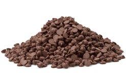 Chocolate Chips Stock Photos