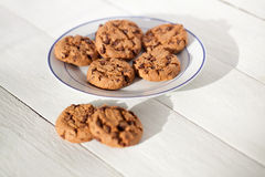 Chocolate chips cookie Royalty Free Stock Photography
