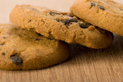 Chocolate Chips Cookies Stock Image