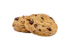 Chocolate Chips Cookies Fotografia de Stock