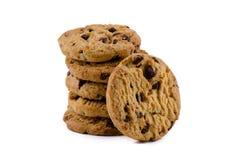 Chocolate Chips Cookies Foto de archivo libre de regalías