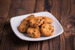 Chocolate Chips Cookies Fotos de archivo