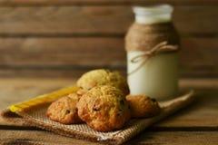 Chocolate Chips Cookies Fotos de Stock Royalty Free