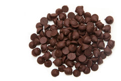 Chocolate chips Royalty Free Stock Photos