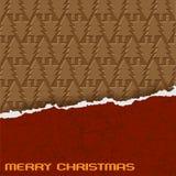 Chocolate Christmas Stock Image