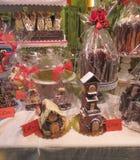 Chocolate Christmas cakes Royalty Free Stock Photos