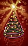 Chocolate christmas tree Royalty Free Stock Photo