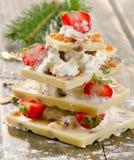 Chocolate christmas tree Stock Image