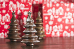 Chocolate Christmas Trees Royalty Free Stock Image