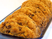 Chocolate Chunk Cookie Stock Photos