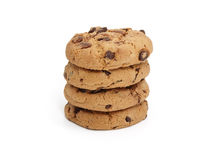 chocolate chunk cookies Стоковое Изображение
