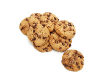 Chocolate chunk cookies Stock Photography