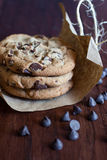 Chocolate Chunk Cookies Stock Images