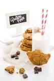 Chocolate chunk cookies Stock Photo