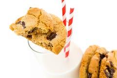 Chocolate chunk cookies Stock Photos