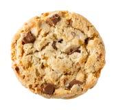 Chocolate chunk crispy cookie Stock Photos