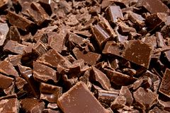 Chocolate chunks (1) Royalty Free Stock Images