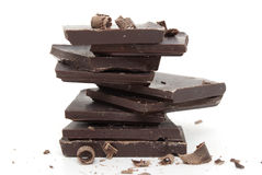 Chocolate Chunks Stock Photography