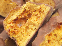 Chocolate Cinder Toffee Stock Images